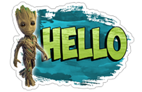 Guardians of the Galaxy sticker 1
