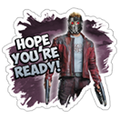 Guardians of the Galaxy sticker 2