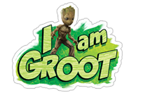 Guardians of the Galaxy sticker 4