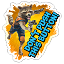 Guardians of the Galaxy sticker 7