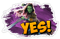 Guardians of the Galaxy sticker 8