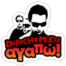 Стикер Depeche Mode by Akazoo 2