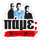 Стикер Depeche Mode by Akazoo 3