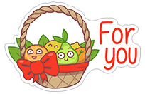 Food Lovers sticker 3
