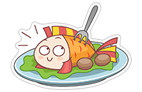 Food Lovers sticker 6