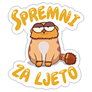 Volim ljeto! sticker 20