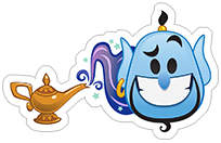 Стикеры Disney Emoji sticker 1