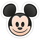 Стикеры Disney Emoji sticker 2