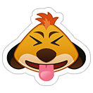 Стикеры Disney Emoji sticker 4