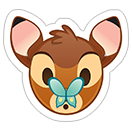 Стикеры Disney Emoji sticker 9
