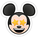 Стикеры Disney Emoji sticker 38