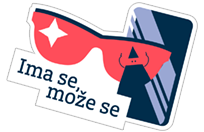 Addiko stikeri sticker 15