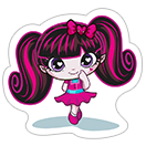 Стикер Monster High 4