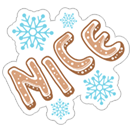 I love winter sticker 24
