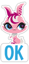 Стикер LITTLEST PET SHOP 3