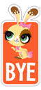 Стикер LITTLEST PET SHOP 10