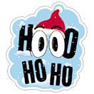 Shooster Holiday Stickeri sticker 5