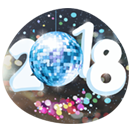 Happy New Year 2018 sticker 7