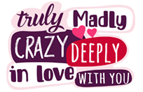 Стикер Truly Madly Deeply 4