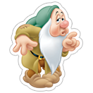 Snow White and the Seven Dwarfs sticker 2