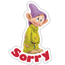 Snow White and the Seven Dwarfs sticker 4