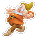 Snow White and the Seven Dwarfs sticker 8