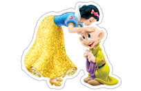 Snow White and the Seven Dwarfs sticker 18