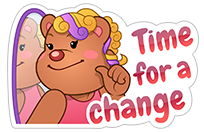 New Year's Resolutions sticker 7