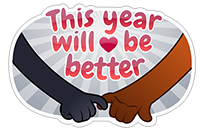 New Year's Resolutions sticker 15