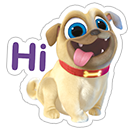 Puppy Dog Pals sticker 1
