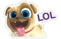 Puppy Dog Pals sticker 4