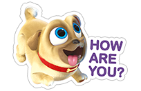 Puppy Dog Pals sticker 5