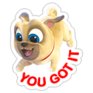 Puppy Dog Pals sticker 8