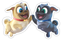 Puppy Dog Pals sticker 9