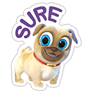 Puppy Dog Pals sticker 11