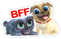 Puppy Dog Pals sticker 13