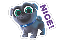Puppy Dog Pals sticker 16