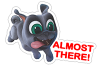 Puppy Dog Pals sticker 20