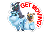 Puppy Dog Pals sticker 23