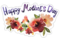 Mother's Day 2018 sticker 1