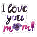 Mother's Day 2018 sticker 7