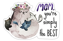 Mother's Day 2018 sticker 20
