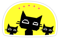 DiscoKat sticker 11