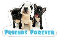 THE DOG and Friends sticker 8