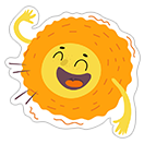 Summer Sun sticker 12