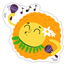 Summer Sun sticker 16
