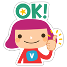 Viki & Friends  sticker 11