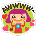 Viki & Friends  sticker 19