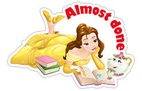 Disney Princesses sticker 7