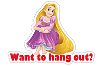 Disney Princesses sticker 14